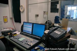 KRSN's air studio