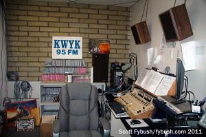 KWYK's studio