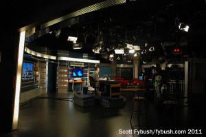 KTNV's studio