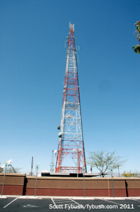 The old KTNV tower