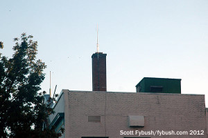 Antenna on 1420 Main St., October 2012