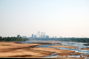 Downtown Tulsa, from the south
