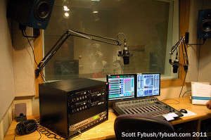 Another WFIU production room