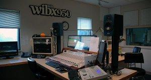 The WIBX studio