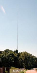 WEVV's tower