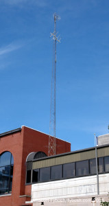WFHB's STL/translator tower