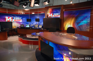 WFIE's HD news set