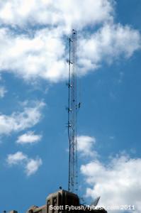 WUEV's antenna