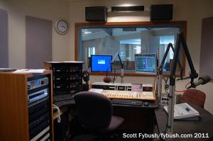 WUEV's studio
