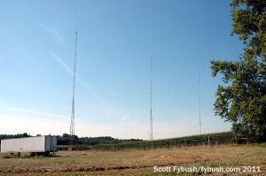 WVHI 1330's towers