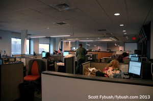 The KYW newsroom
