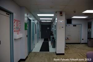 KYW's hallway and phasor