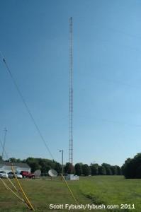 The WDNL/WDAN tower