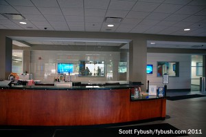 WHIO's front desk