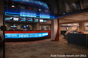 The combined news desk
