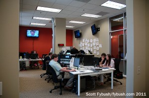 The FM News newsroom