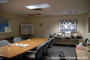 WYSO pledge room