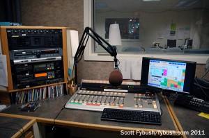 WYSO production studio