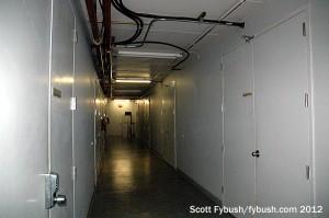 The hallway upstairs