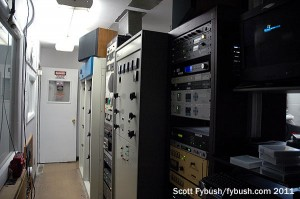The WLTI transmitter room