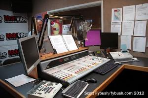 KVYB 103.3's new studio