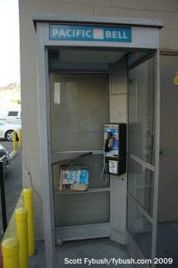 The phone booth