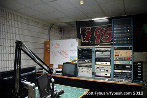 Racks in the WRKI studio