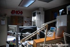 WBWN's studio