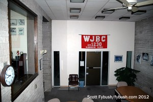WJBC's old lobby