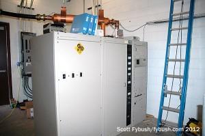 WTHI-FM's new transmitter room