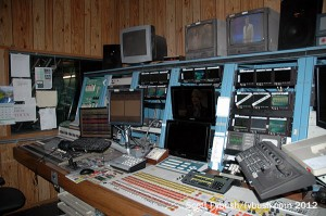 WTHI-TV control room