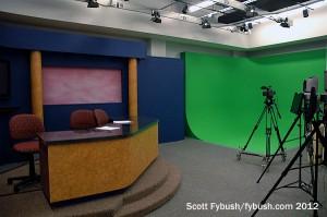 Behrend's TV studio