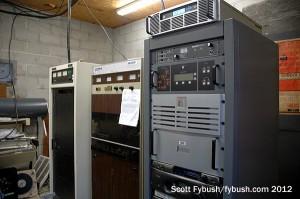 WPSE's transmitter shed