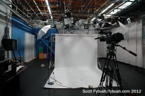 WQLN's TV studio