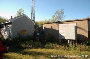 WRKT's transmitter building