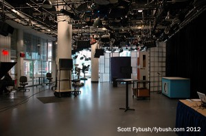 Front studio at WVIZ