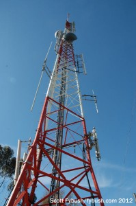 The KGTV tower