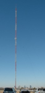The old WBAP-TV tower