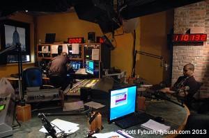 WSKQ main studio