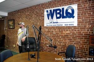 WBLQ's talk desk