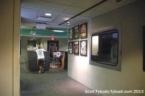 The WQHT hallway