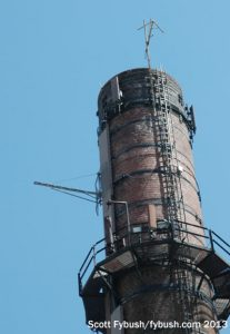 Smokestack closeup