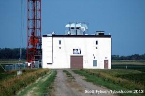 Transmitter building