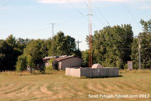 KXSS transmitter building