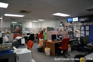 WMGM's newsroom