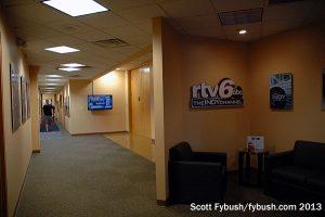 WRTV's back lobby