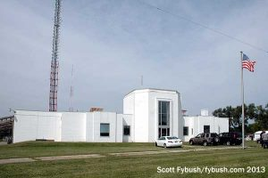 The WSBT transmitter building