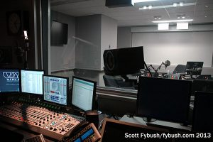 Talk studio control room