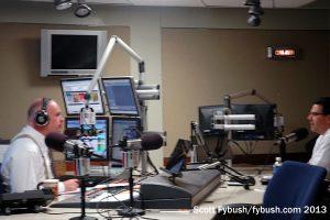 WFED's talk studio