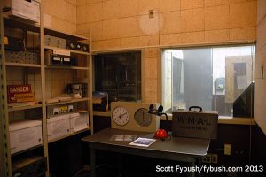 An old WMAL studio